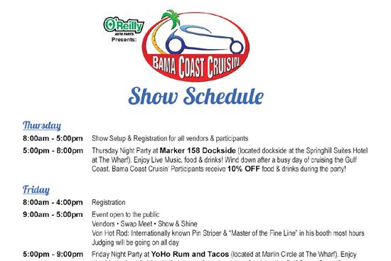 Show Schedule Thumbnail